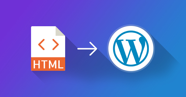 HTML v WordPress