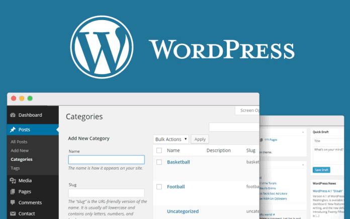 WordPress Ustvari kategorije