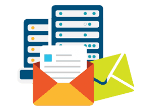 email-hosting-vector