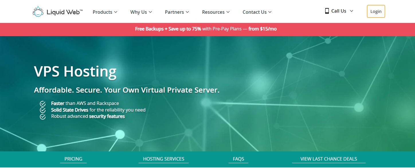 Liquid Web cloud hosting