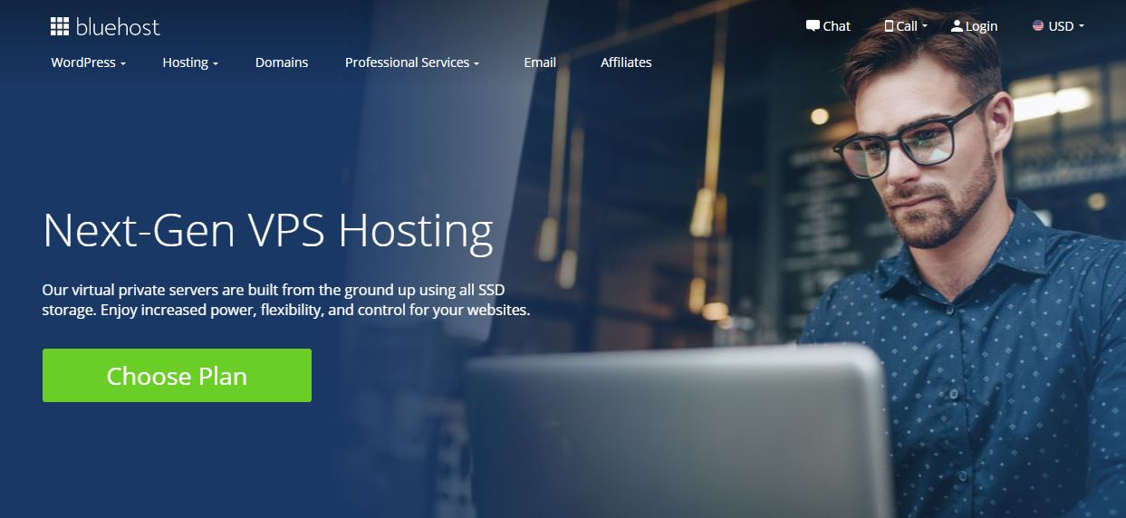 Recenze Bluehost vps