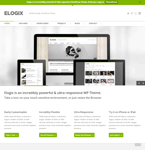 Elogix WP-thema