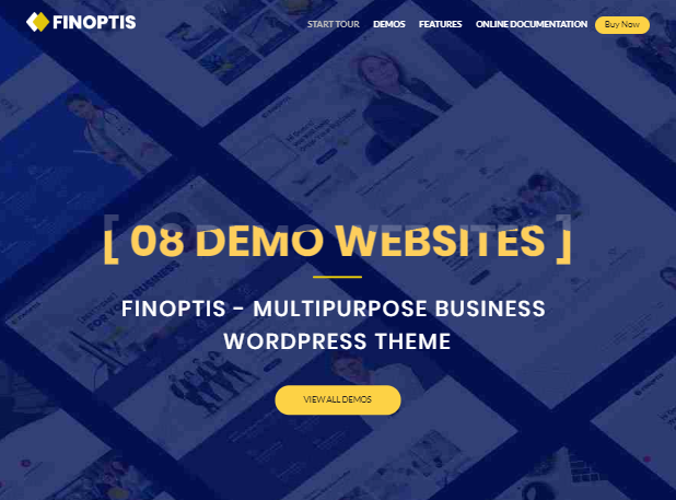 Finoptis Business WP-thema