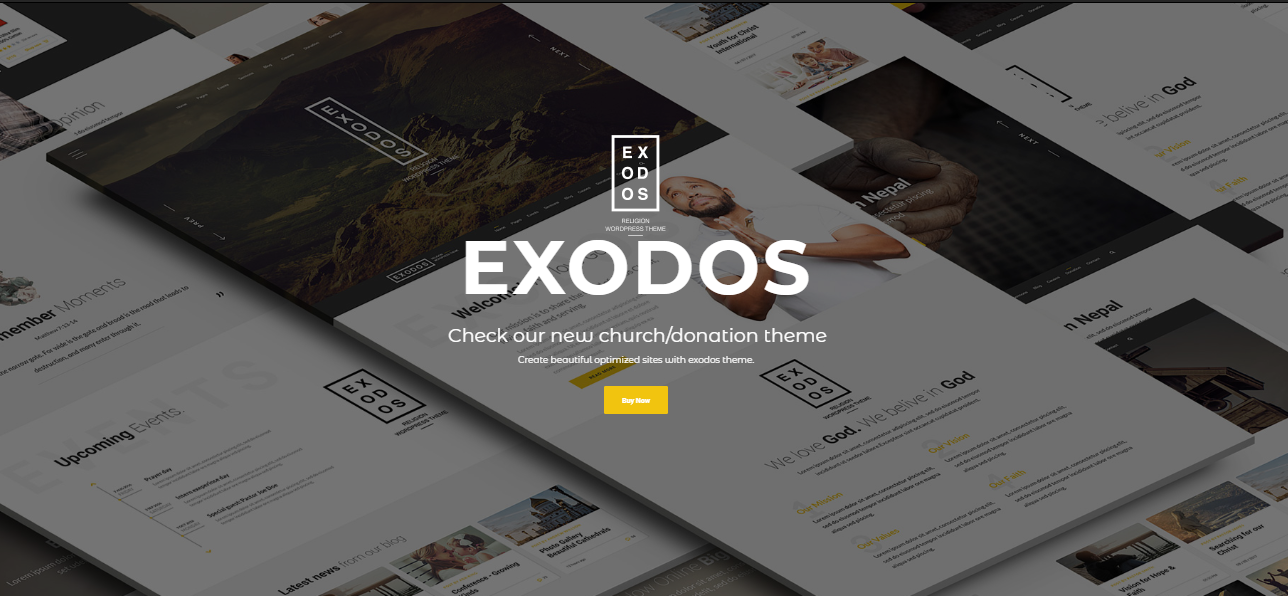 """Exodos WordPress"" tema"
