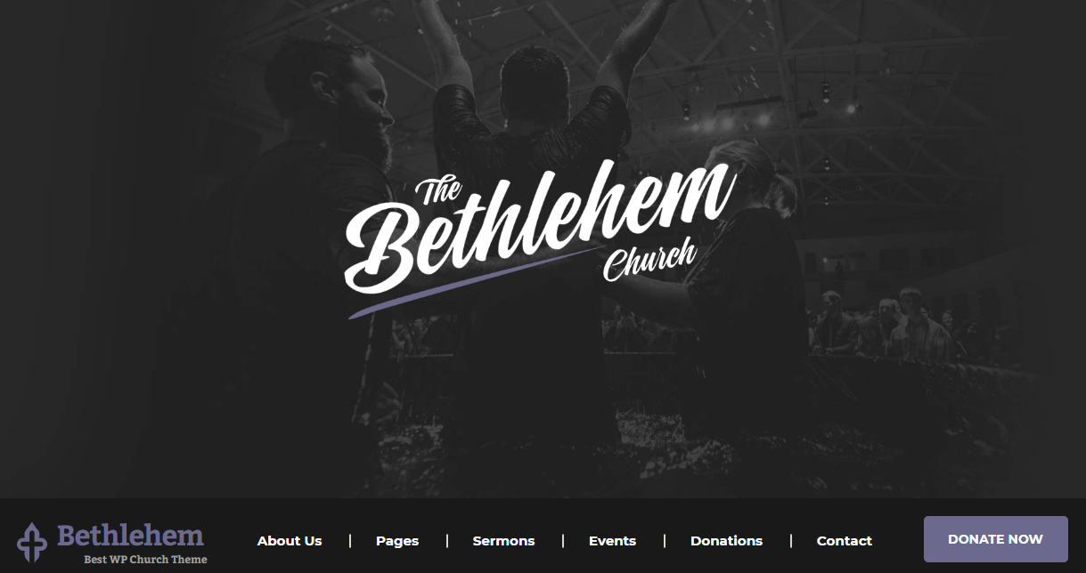 "Betliejaus ""WordPress"" tema"