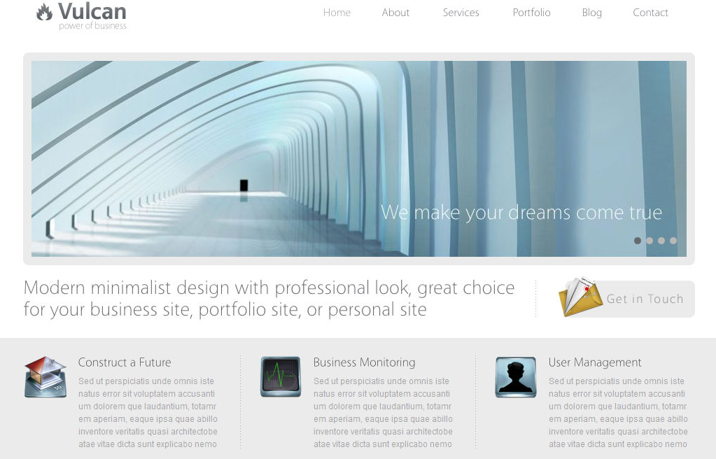 Tema Vulcan WordPress