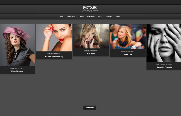 Photolux WordPress tema