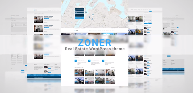 Zoner Real Estate WordPress Theme
