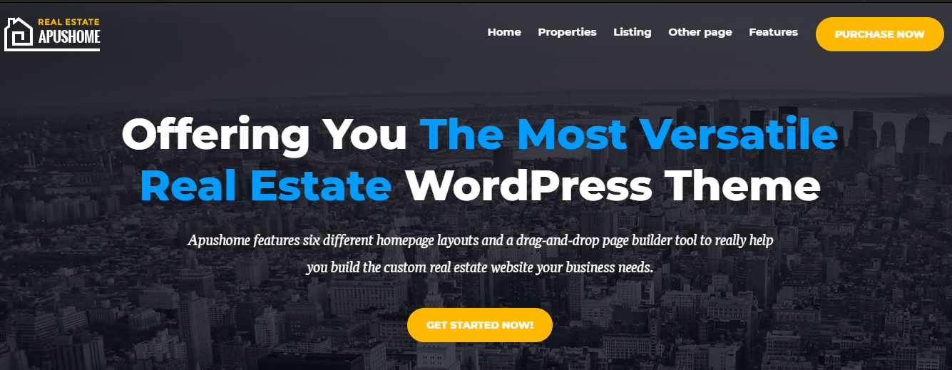 ApusHome WordPress Theme