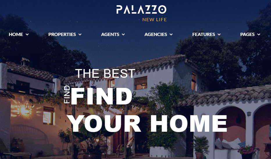 Palazzo Real Estate WordPress Theme