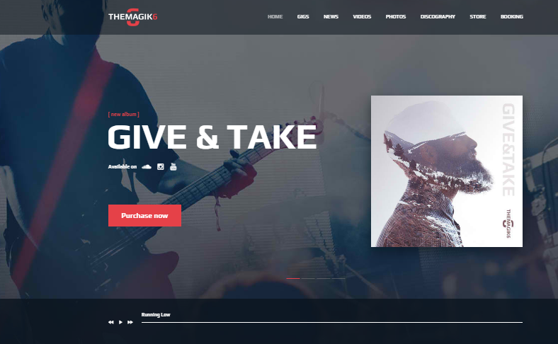 Magic 6 WordPress Theme
