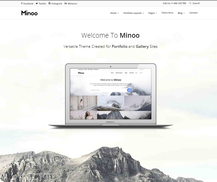 Minoo WP Theme